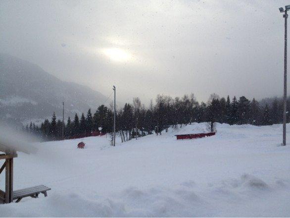 Snø og sol