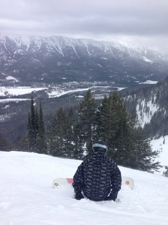 Another great day at Fernie. More of the same tomorrow, hasn't stopped snowing since 4pm when the hill shut!