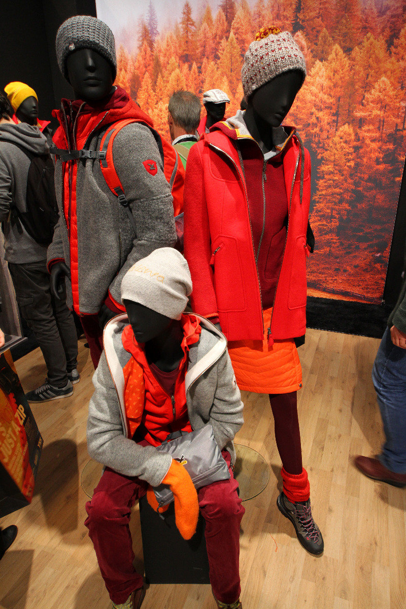 Alpine Life Collection at Salewa stand - © Skiinfo