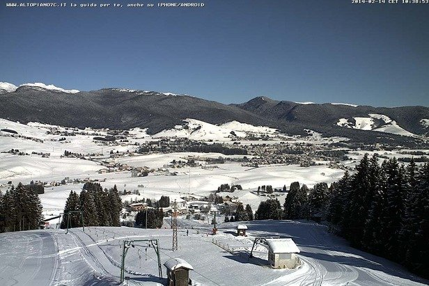 Asiago, Neve 14 Feb 2014