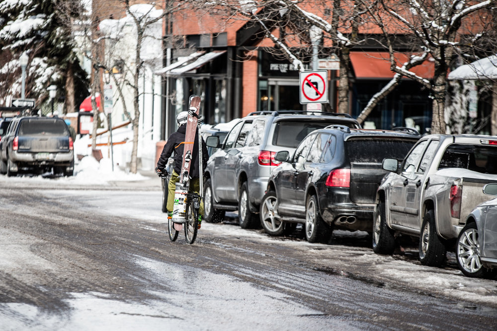 Beat the traffic: biking is often the best way to get by. - © Liam Doran