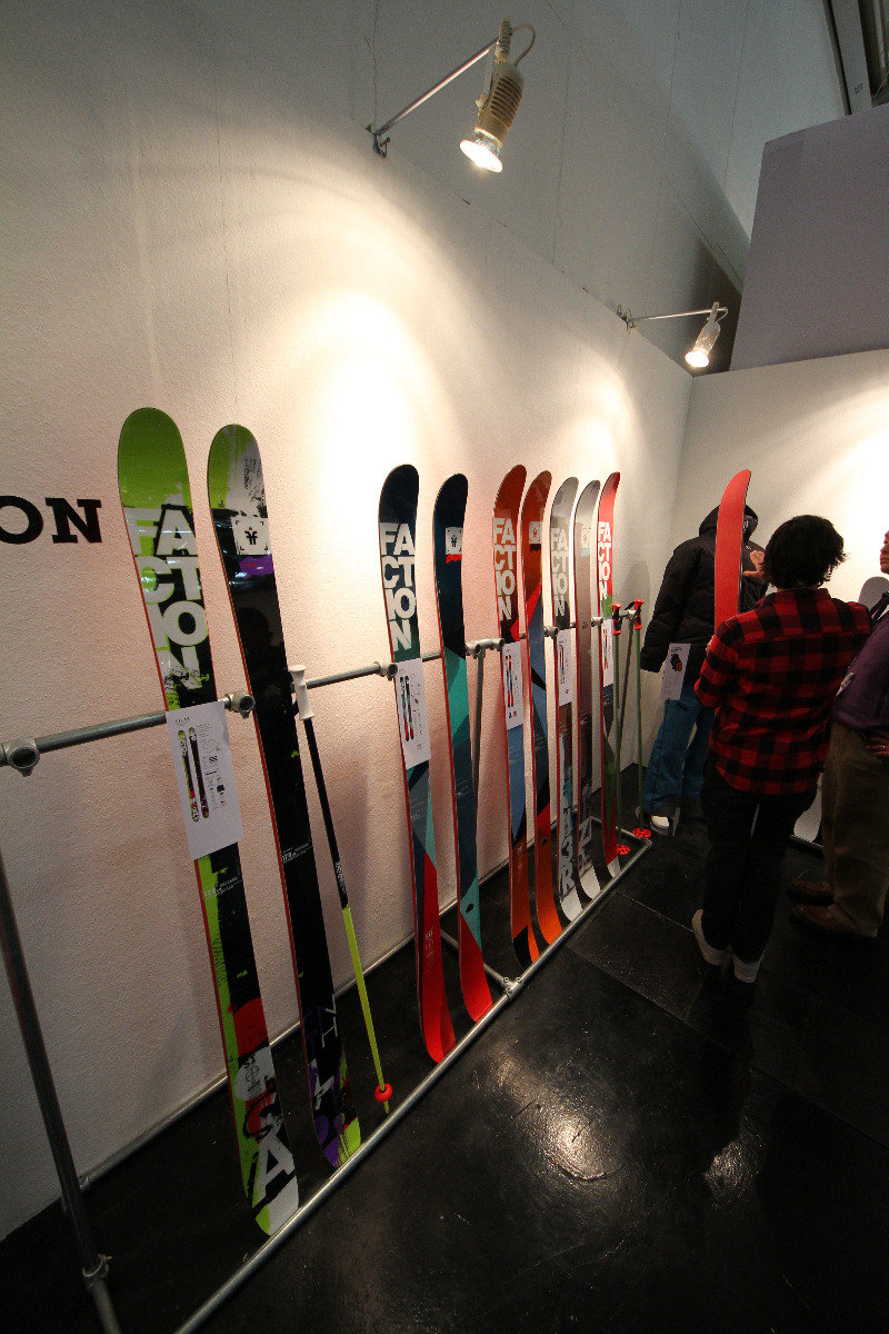 Faction Ski at ISPO - © Skiinfo