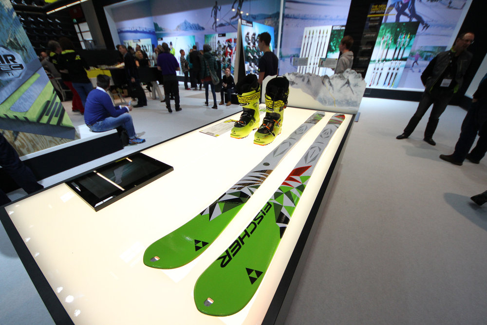 Fischer touring skis at ISPO 2014 - © Skiinfo