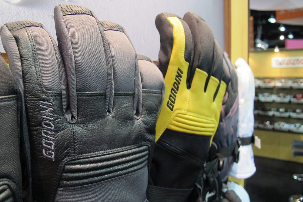 Gordini's new Empyrean collection features a series of handwear made with American Bison leathers.  - © Heather B. Fried