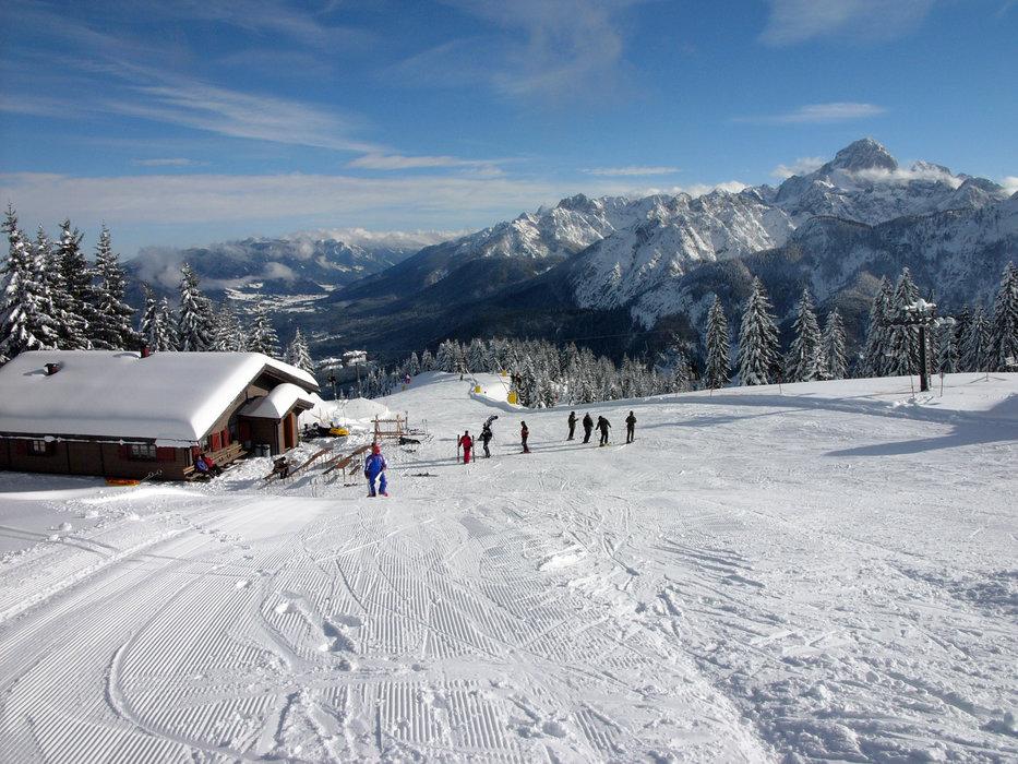 Inverno in Friuli Venezia Giulia - Sci discesa Florianca - © Claudio Beltrame