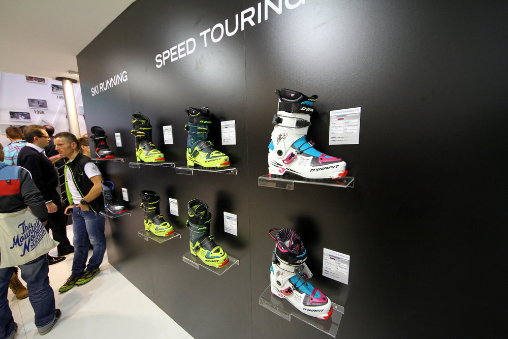 ISPO 2014 - Black Dynafit speed touring collection - © Skiinfo