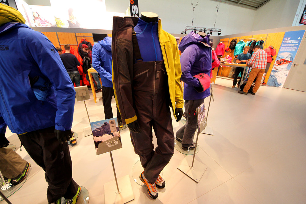 Mountain Hardwear at ispo 2014 - © Skiinfo