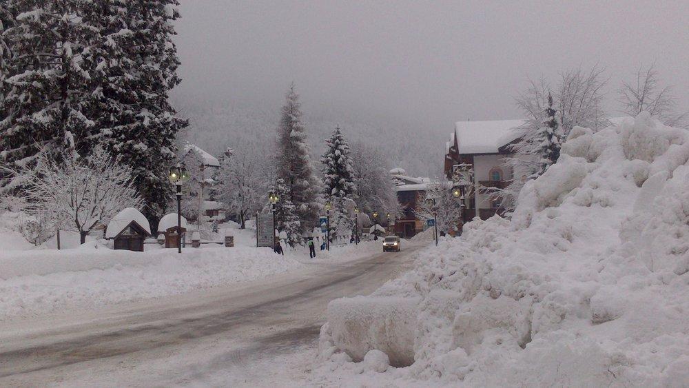 Paganella, Dolomites Jan. 31, 2014