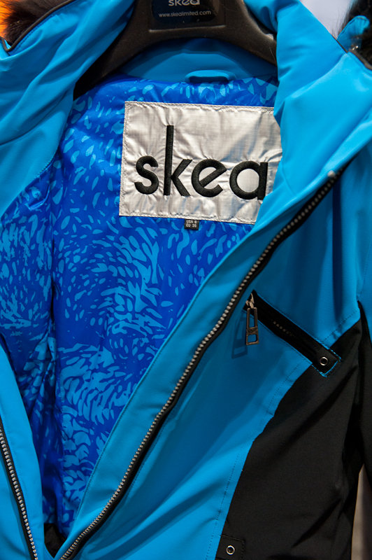 SKEA's two-tone Gili jacket is a new and sporty style for the brand.  - © Ashleigh Miller Photography