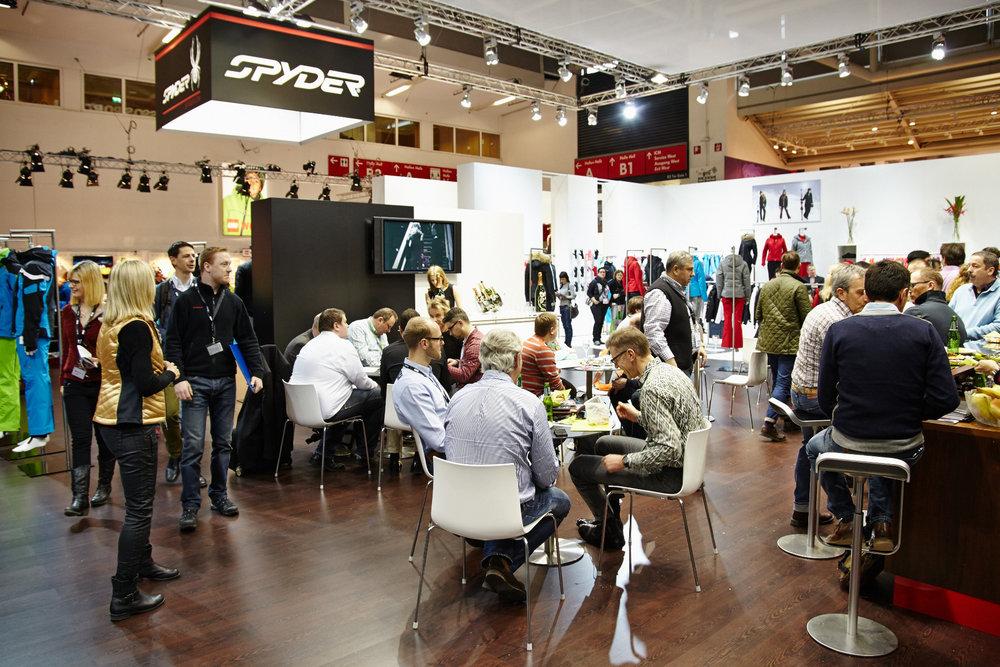 Spyder stand - ISPO 2014 - © Messe München GmbH