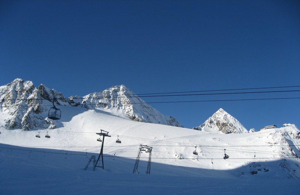 Stubai glacier Jan. 15, 2014 - © Facebook Stubaier Gletscher