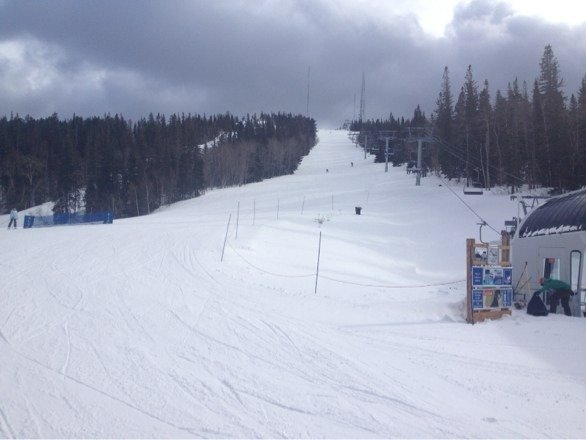 Great day skiing TP! Coming from the Midwest, skiing on real snow is amazing!