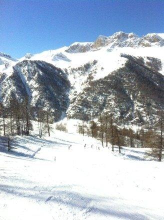 Une journée splendide après une nuit de chute de neige le soleil au rdv ... La plus belle journée de la semaine dans ce merveilleux Queyras