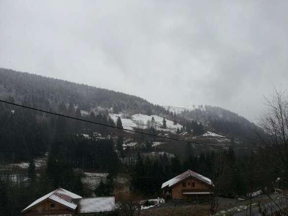 il neige ici depuis 2 jours