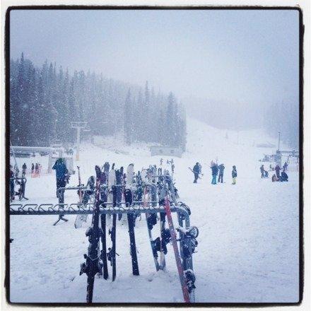 Snowed like crazy.