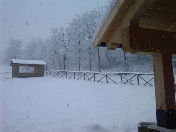 domenica 2 marzo 2014  scesi 40 cm di neve e continua a nevicare..da mercoledí 5 tanta neve fresca.. piste battute e aperte...finalmente si scia..