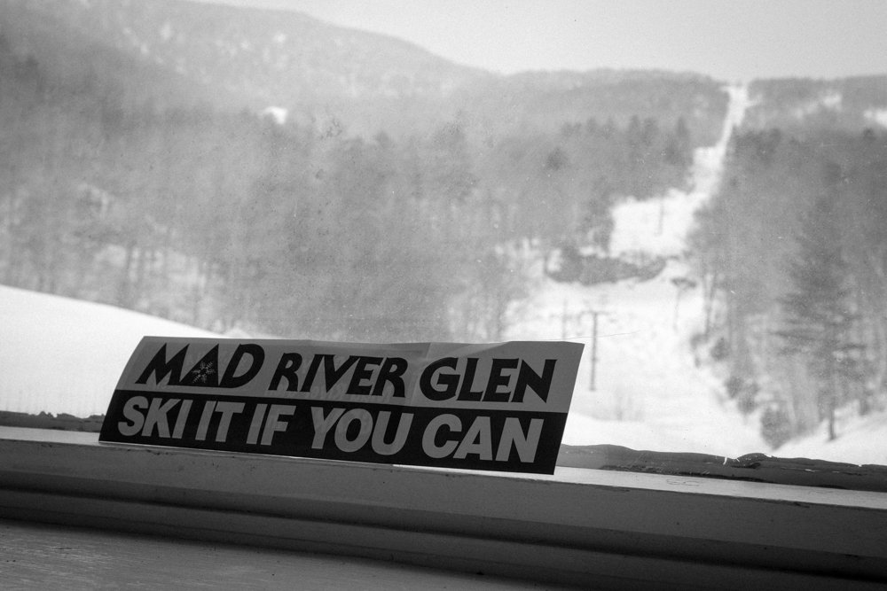 Mad River Glen is a steep, tight, cliff-laden area sure to keep you entertained. - © Liam Doran