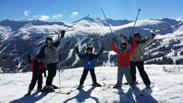 Best day I ever had at Loveland. Bluebird, no wind, no crowds.  Thanks Joe