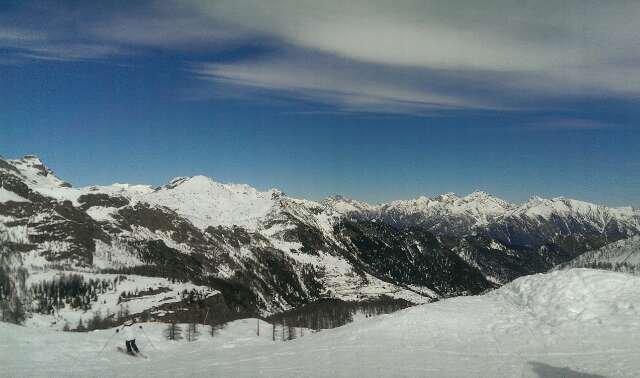 Champorcher - Neve di Marzo 2014