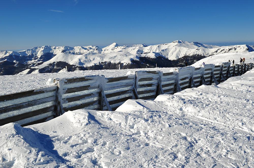 Vue depuis le domaine skiable du Lioran - © PountiProd / T. Marsilhac