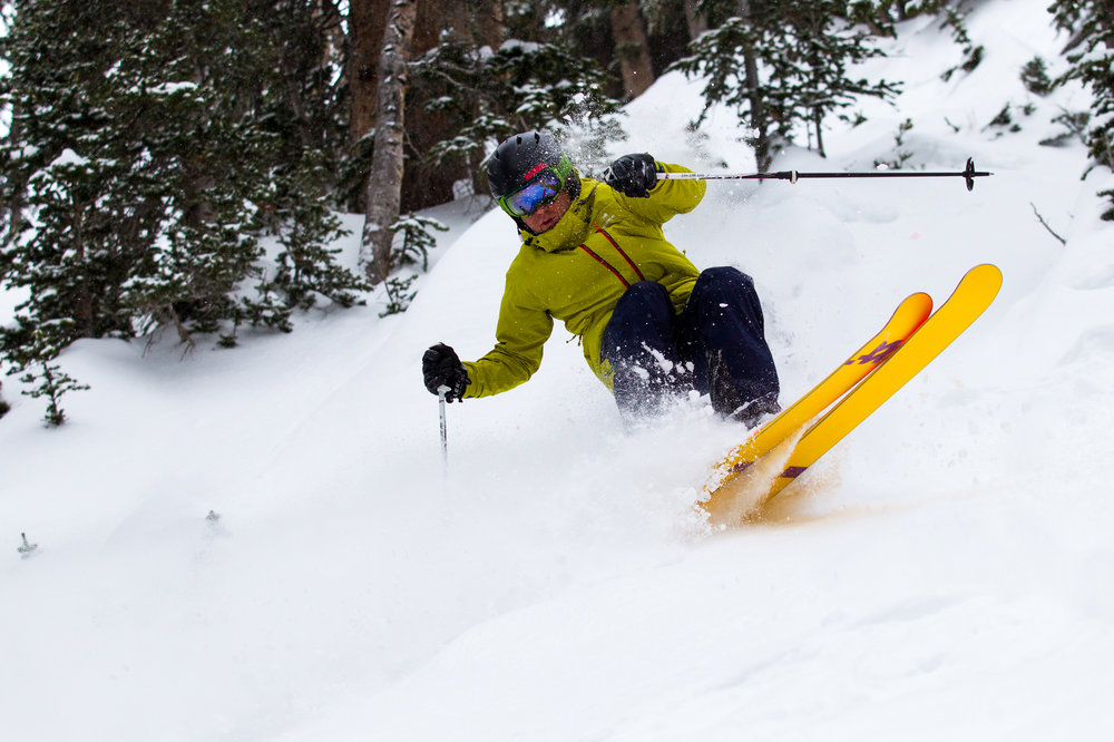 "5"" was plenty to give powder skis a proper test drive during Ski Test 2014.  - © Cody Downard Photography"