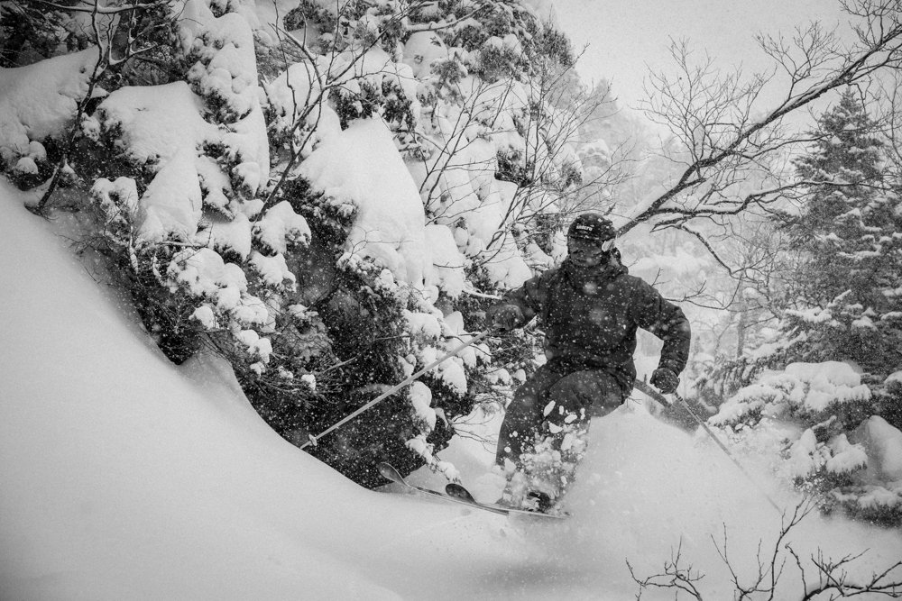 What Ice Coast? Powder a plenty in Stowe.  - © Liam Doran