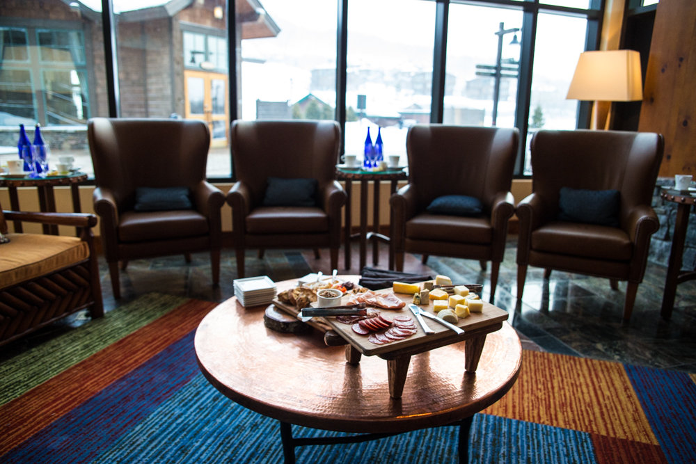 Stowe Mountain Lodge caters to the well-traveled skier/foodie. - ©Liam Doran