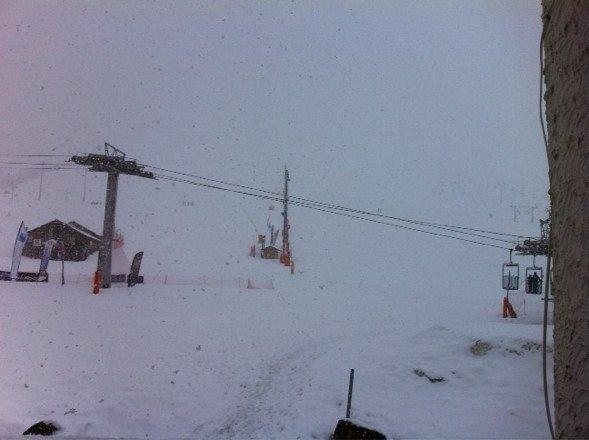 It's snowing !!!!