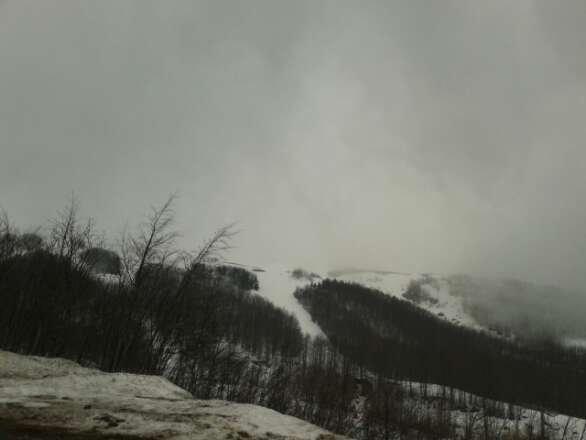 tanta nebbia forte vento e poca gente