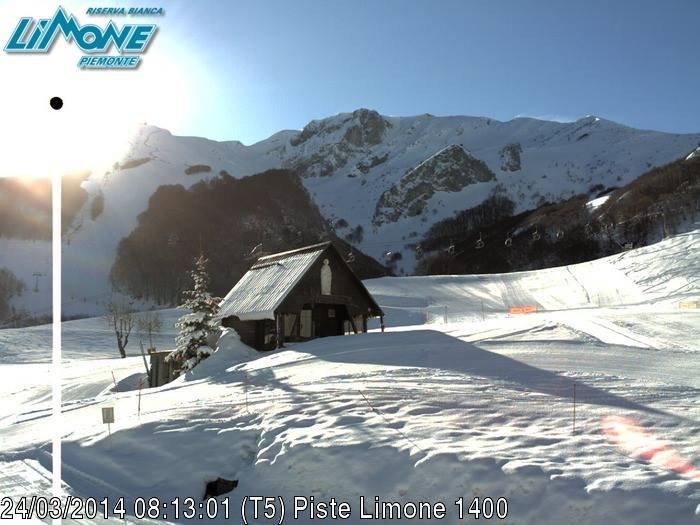 Limone P.te - Ancora neve fresca! 24 Marzo 2014