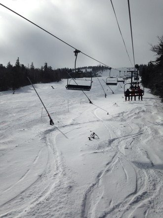 Best day of boarding I've had all season yesterday. Face shots all day long