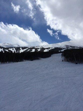 Great snow last night. Best spring skiing. No lines. More snow ahead this week.
