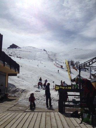 """Ultima sciata sul """"ghiacciaio"""" di Prali ..."""