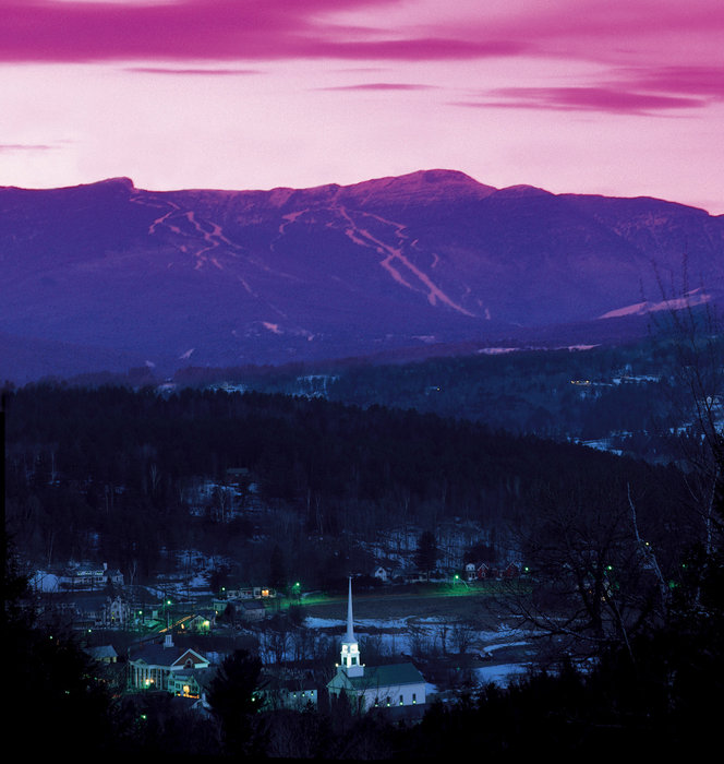 Stowe, VT. - © Stowe Mountain Resort