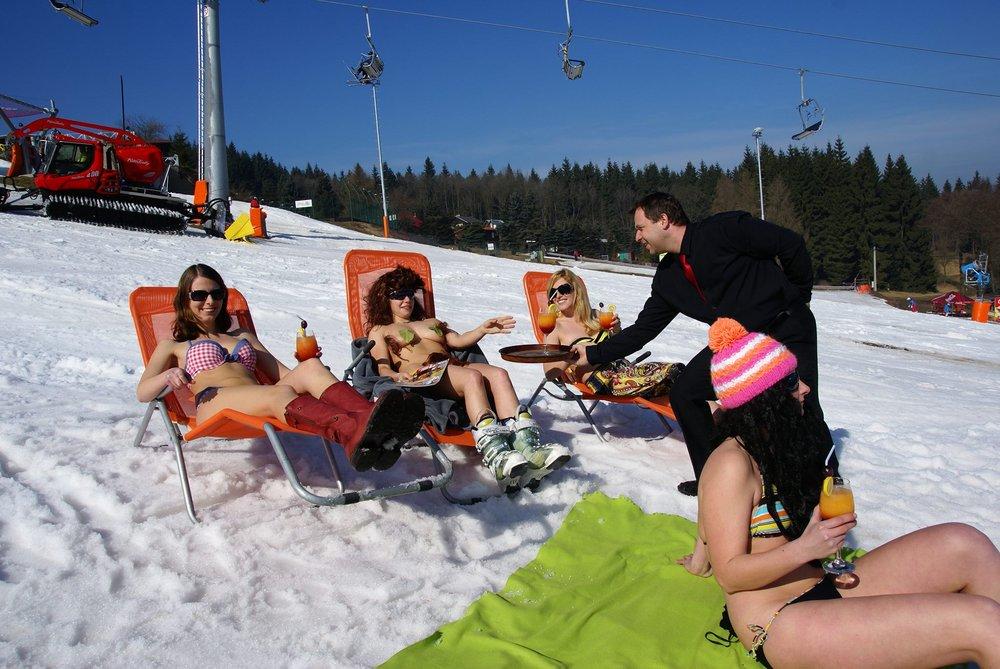 Sci di primavera a Klíny (CZ) - Marzo 2014 - © Klíny