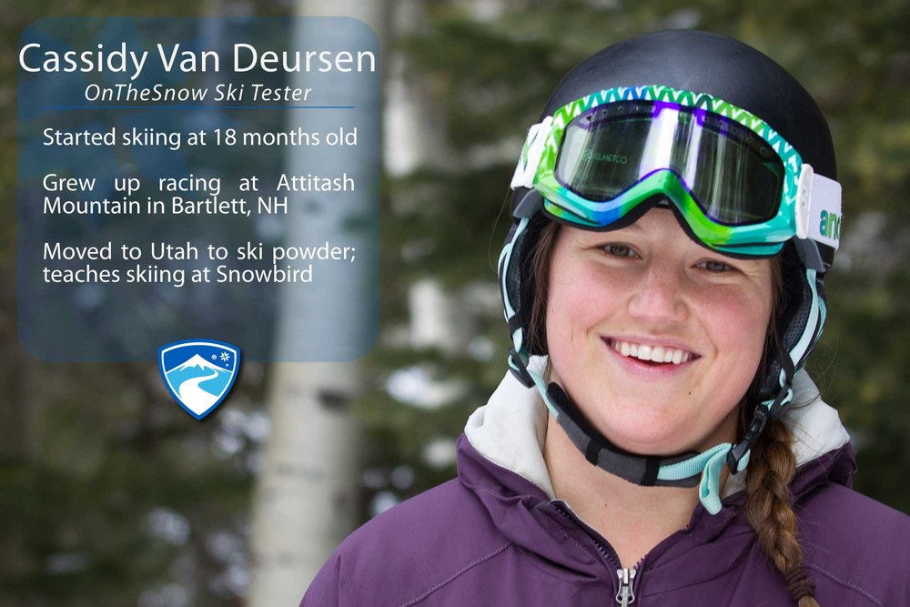"""Cassidy Van Deursen, 22. If you could ski with anyone (past, present or future) who would it be? """"Picabo Street was my childhood icon, so that would be pretty cool."""" - © Cody Downard Photography"""