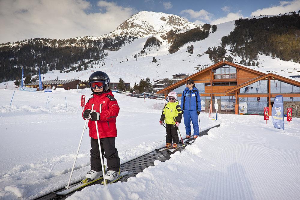 Espace d'initiation au ski à Grandvalira - © OT Grandvalira