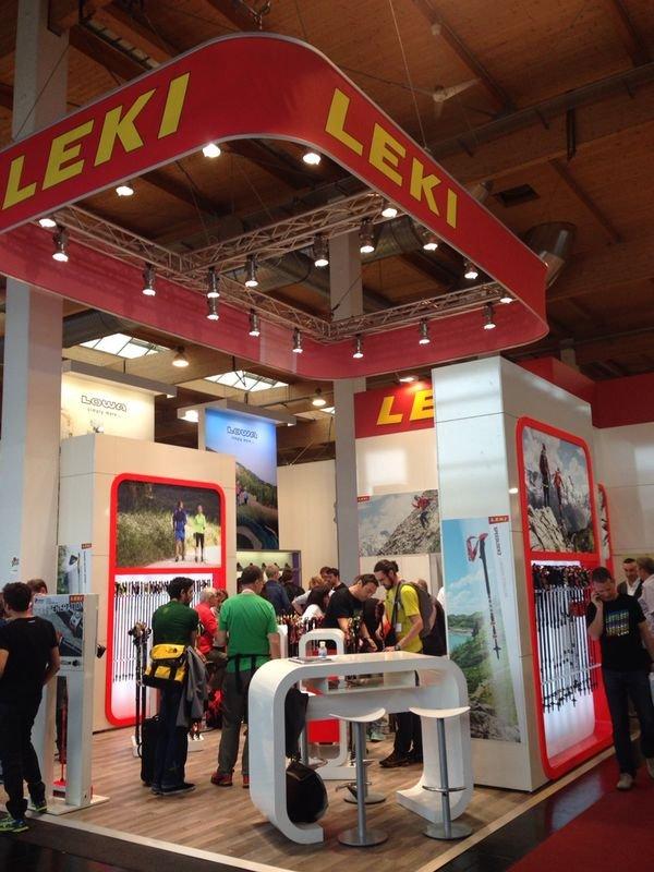 Fiera Outdoor 2014, Friedrichshafen (DE) - Stand Leki