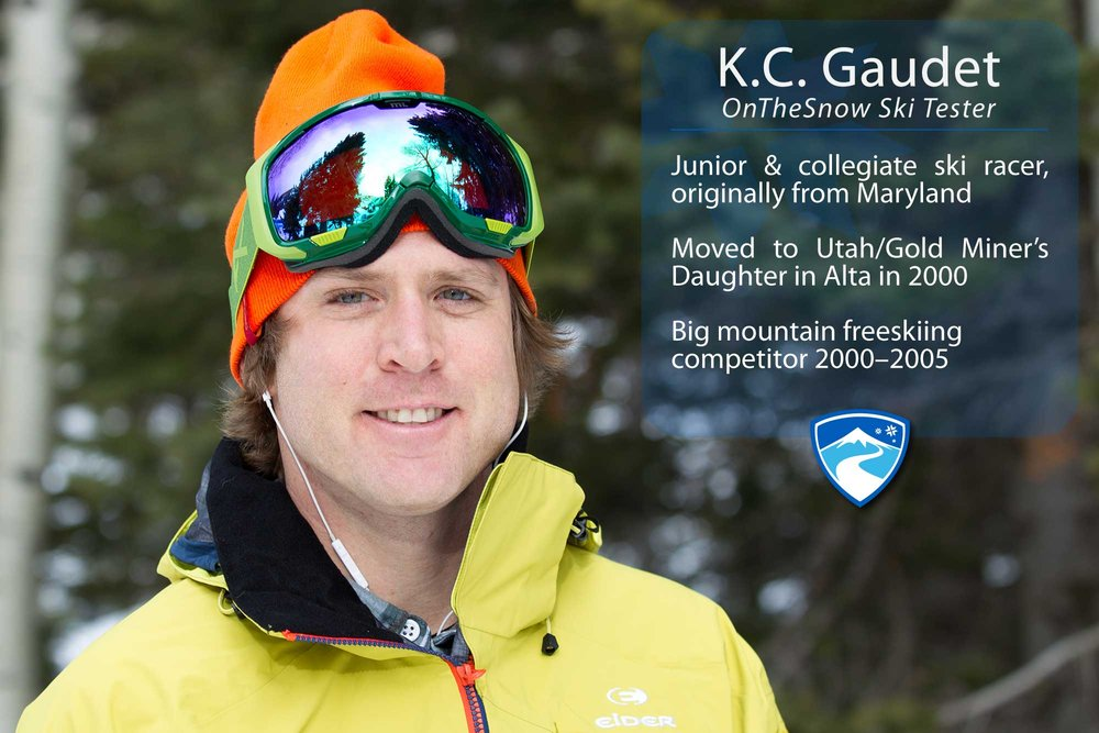 "K.C. Gaudet, 35. What's the worst thing that's ever happened to you while skiing? ""Pelvis, knee, jaw, concussion, concussion, thumb, thumb, thumb, thumb… oh, and I lost a glove from the lift once."" - © Cody Downard Photography"