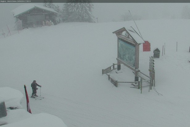 Megeve March 23rd, 2014