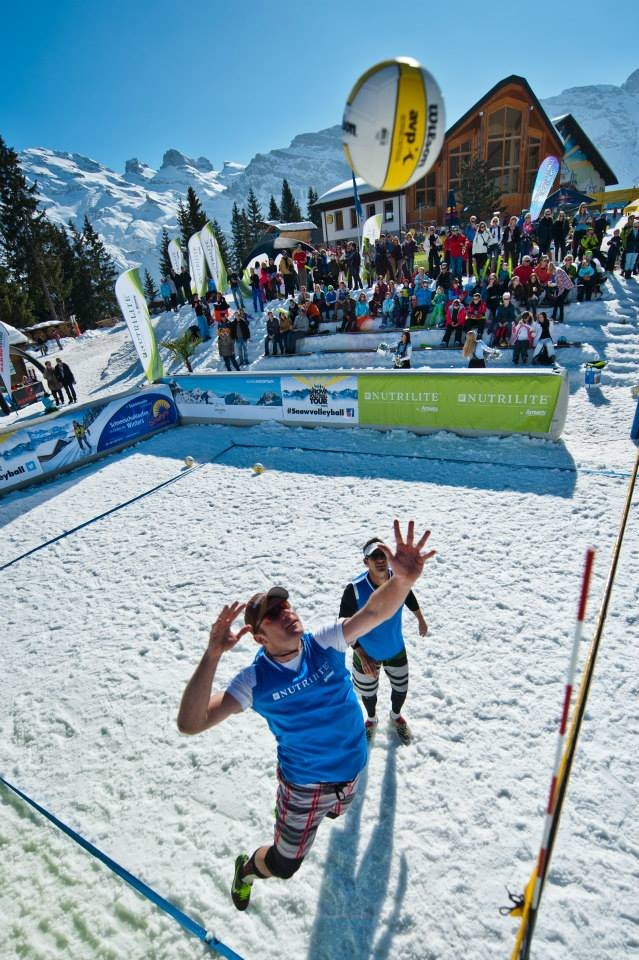 Snow Volleyball World Tour 2014 - Engelberg - © Snow Volleyball World Tour FB