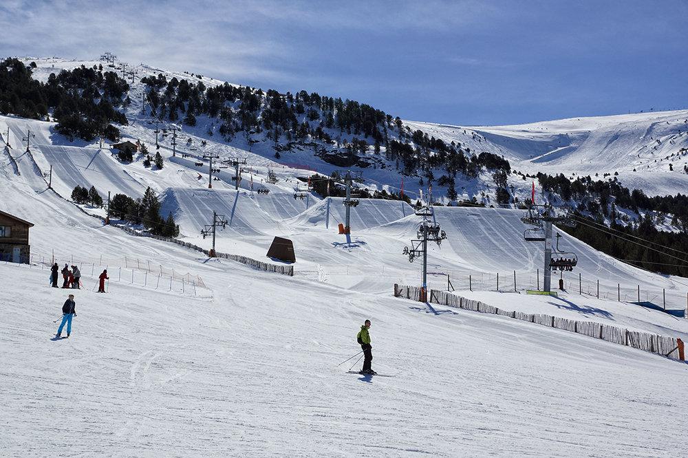 Le snowpark de Grandvalira - © OT Grandvalira