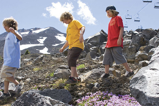 Hike or ski Bachelor? It's your call during the summertime in Bend, Ore. - © Mt. Bachelor Resort