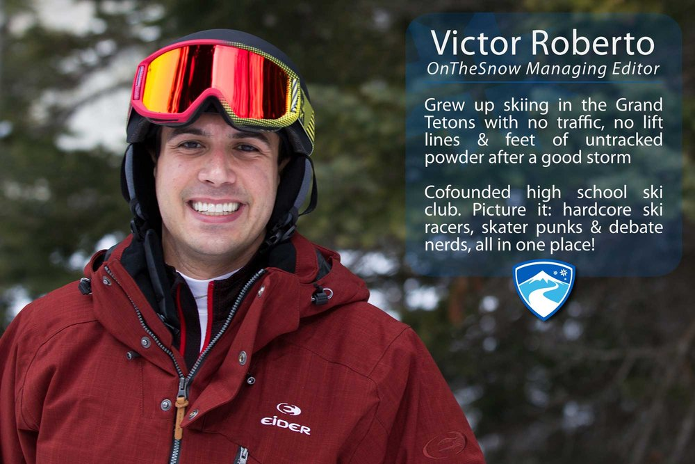 """Victor Roberto, 29. Your ultimate ski day would need to include what? """"A private lesson from Krista Crabtree."""" - © Cody Downard Photography"""