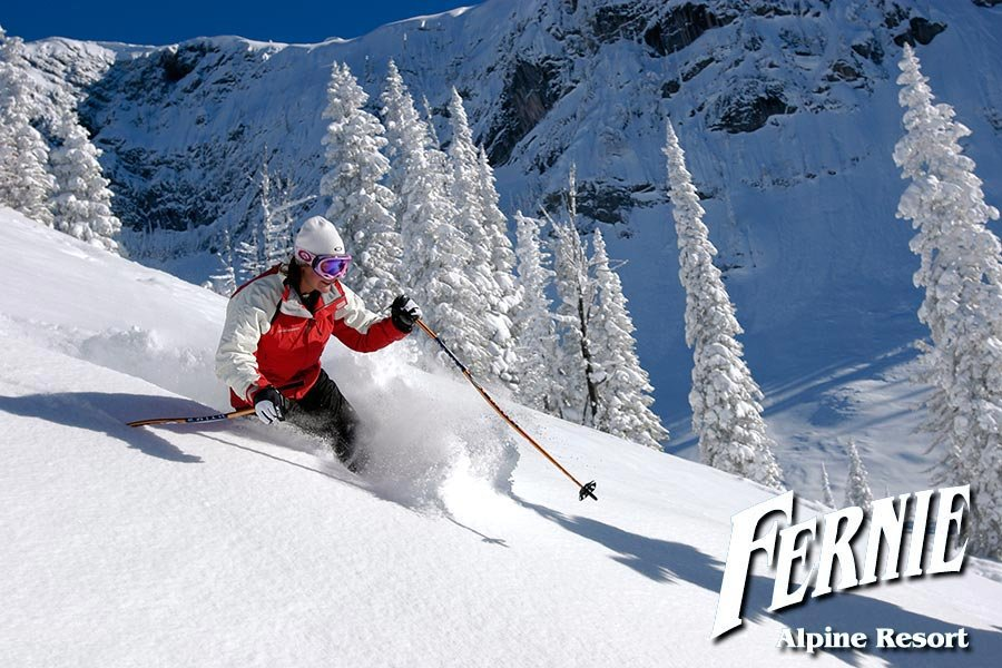 Skiing the Powder Highway in Fernie - © Fernie Resort