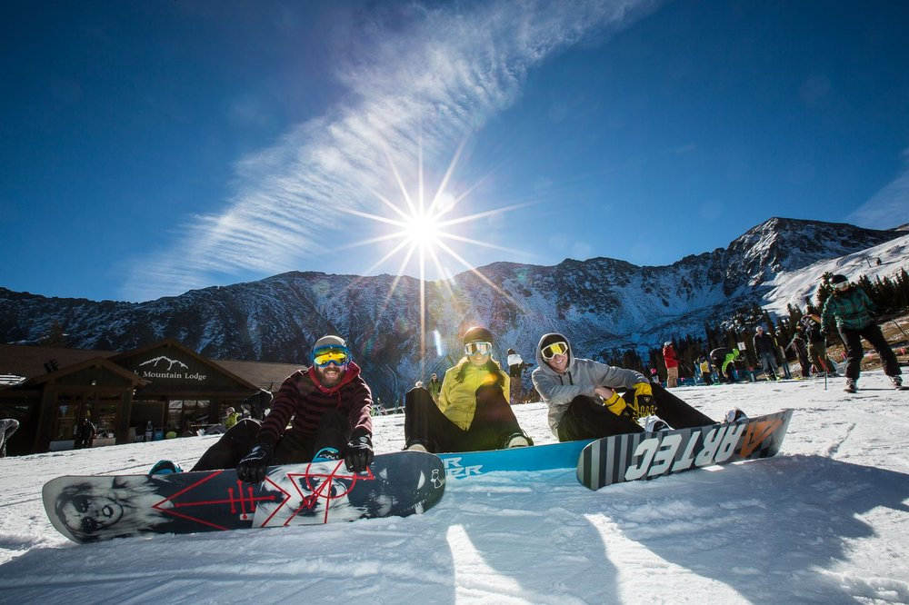 2014/15 marks the third consecutive season that Arapahoe Basin was able to open first in the state. - © Dave Camara/Arapahoe Basin Ski Area