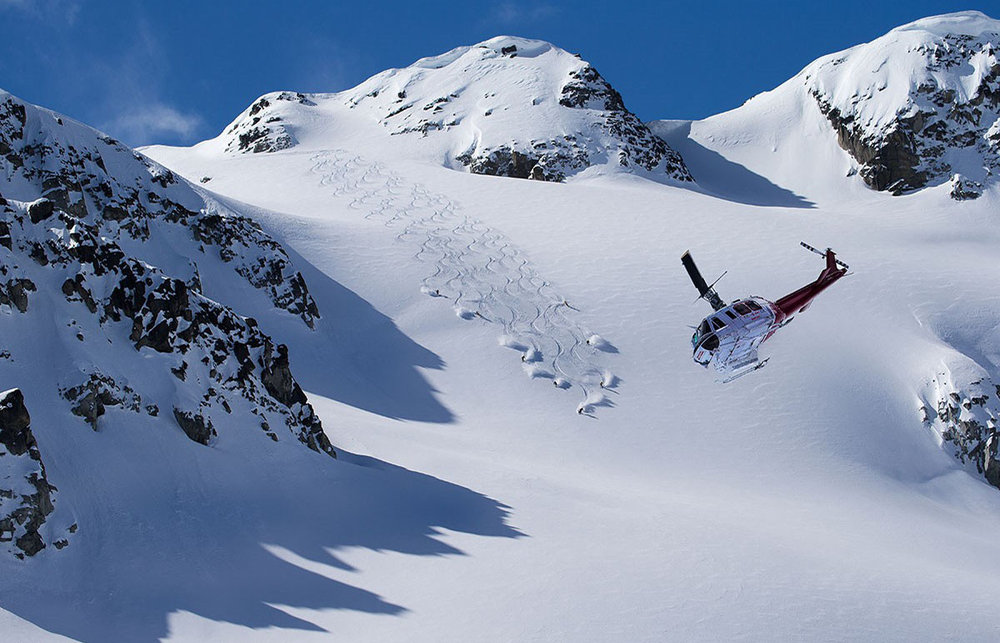 The Ultimate Whistler Heli Ski Experience - ©Whistler Blackcomb