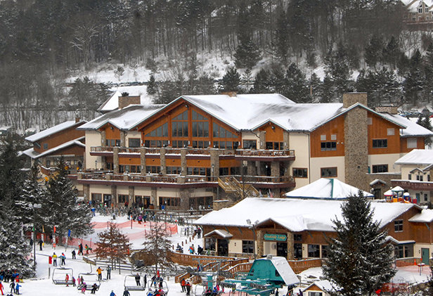 Holiday Valley's new Base Lodge - © Jane Eshbaugh, Director of Marketing