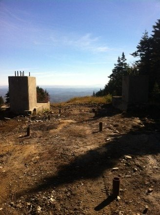 It has begun!!  The new Upper Kidderbrook top lift station concrete is poured. Maybe by 2020 we'll see some new trails.