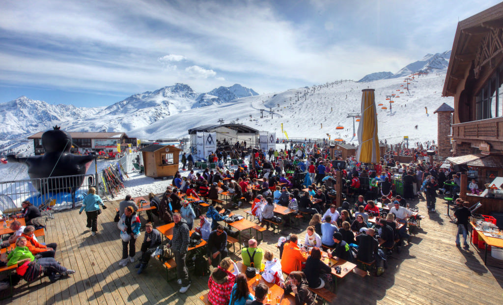 Sölden Party am Giggijoch - © Ötztal Tourismus